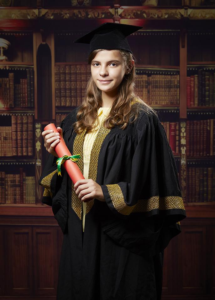 Graduation portrait KL