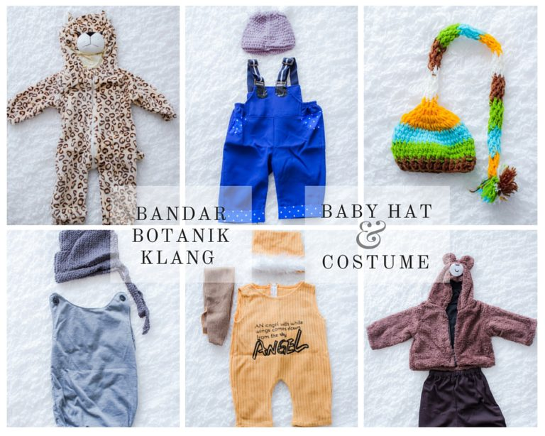 Baby Photography costume in Bandar Botanik Klang Studio