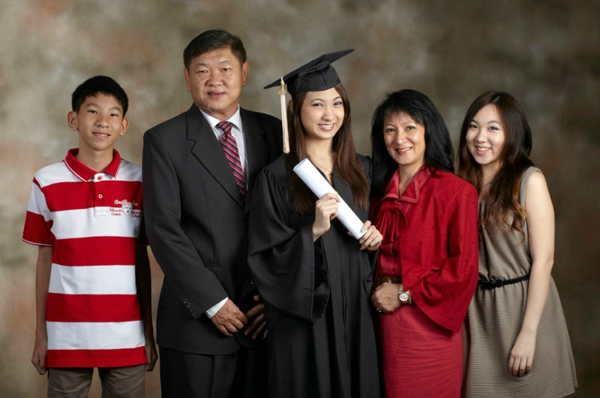 family and graduation