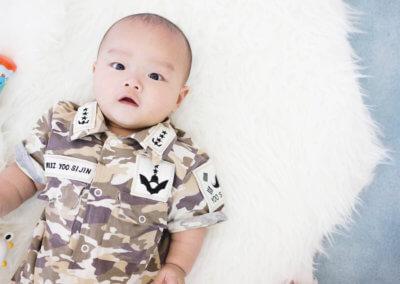 Baby Boy Portrait At Setia Alam