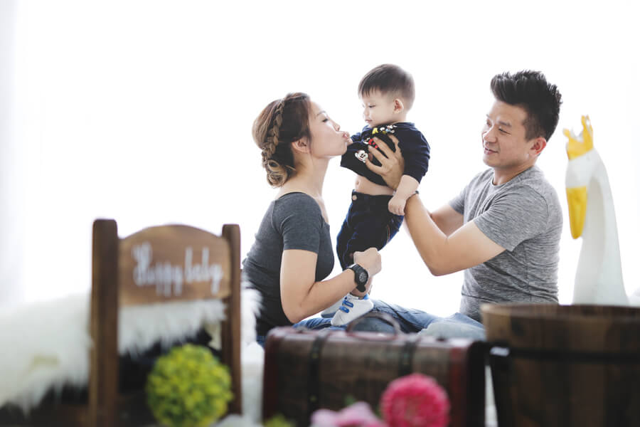 Family Portrait At Setia Alam