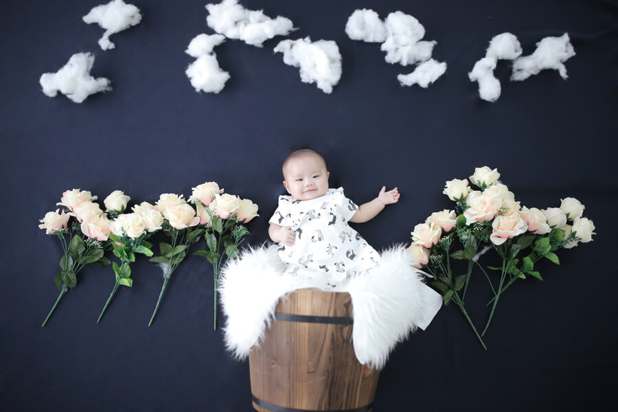 Baby Girl Portrait At Setia Alam