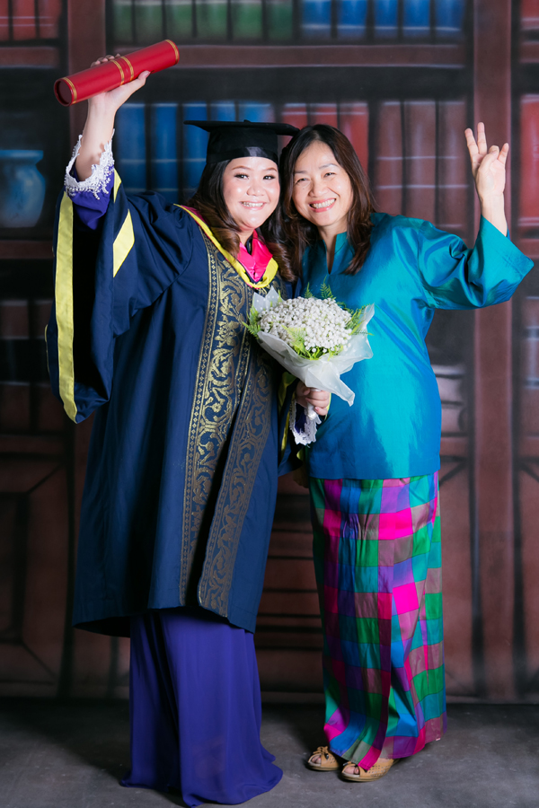 female graduation photo