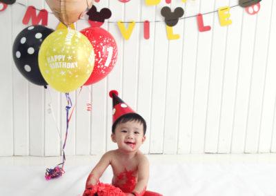 1st Birthday Mickey Theme