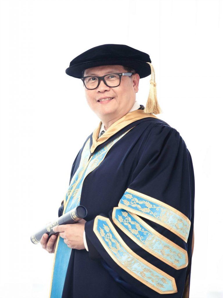 phd graduation portrait