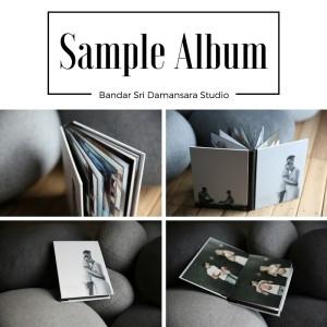 baby photography sample album