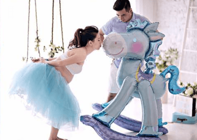 Fantasy Pregnancy Shoot at Puchong Studio
