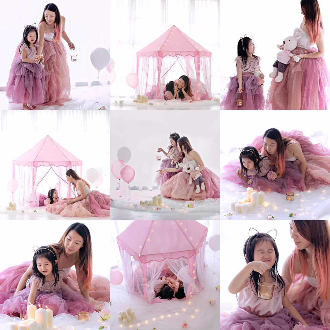 Mother and daughter photoshoot Puchong