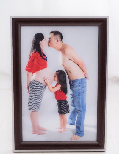 8R dual color wooden frame