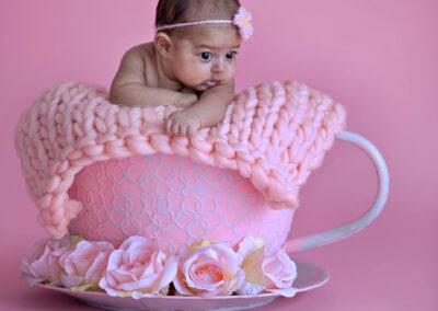 Newborn Baby Girl Pink Theme