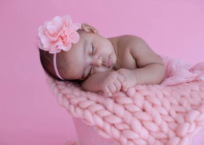 Pink newborn princess
