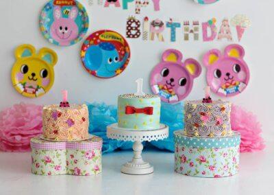 triplet cake smash theme