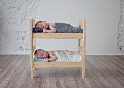 twin newborn shoot
